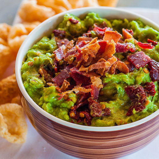Smoky Chipotle and Bacon Guacamole
