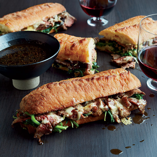 French Dip with Onion Jus