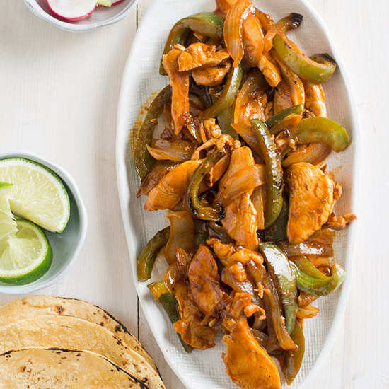 Buffalo Chicken Fajitas