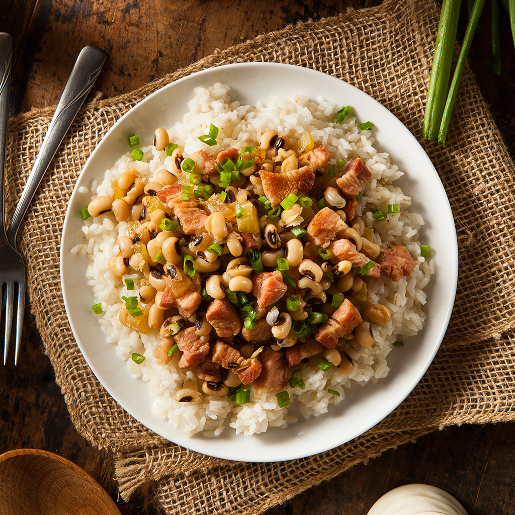 For Good Luck, Make Hoppin' John on New Year's Day