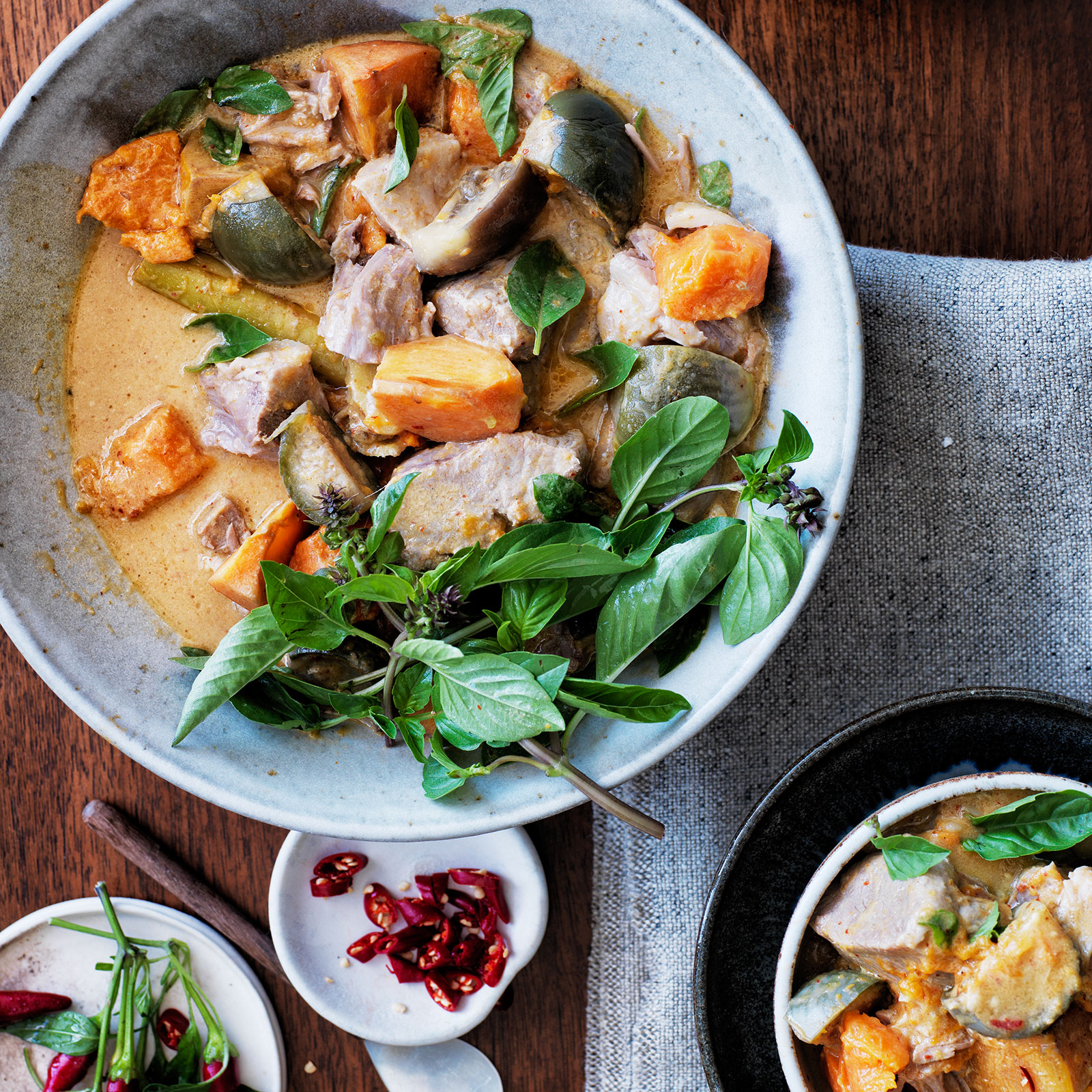 Pork-and-Pineapple Coconut Curry