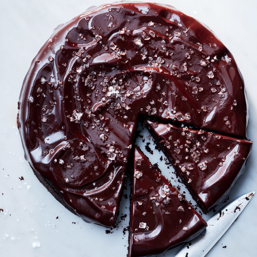 Red Wine Chocolate Snack Cake