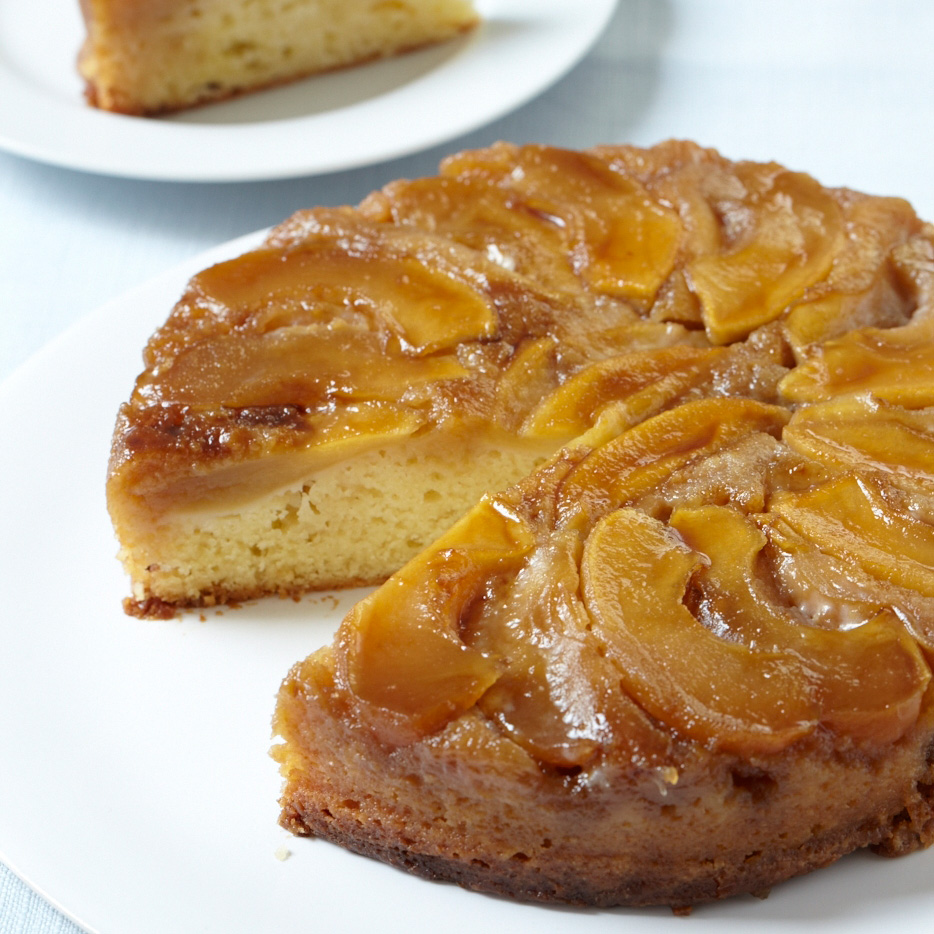 Apple Upside-Down Cake