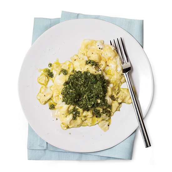 Chile-Cilantro Pesto