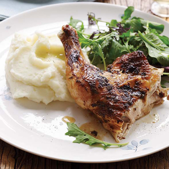 Quick-Roasted Chicken for National Poultry Day