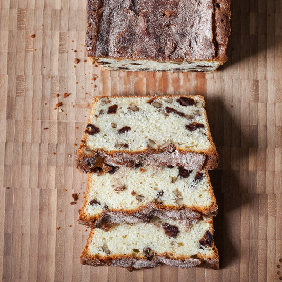Day 19: Strawberry-Pecan Quick Bread