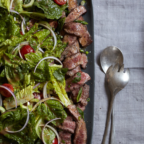 Flatiron Steak Salad with Thai Dressing