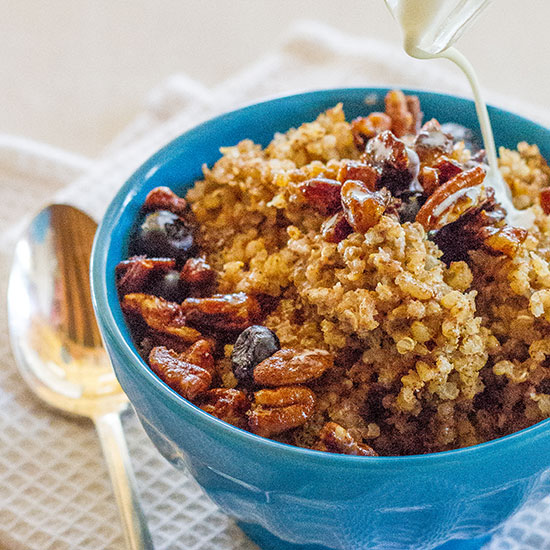 Hot Quinoa Cereal