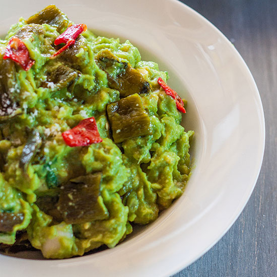 Roasted Chile Guacamole