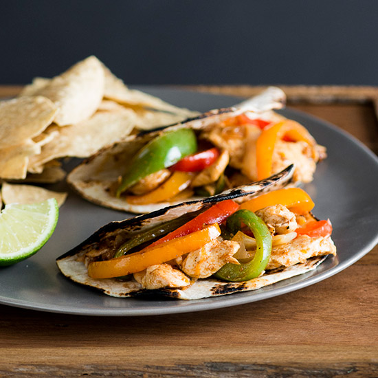 Chicken Fajitas with Bell Peppers