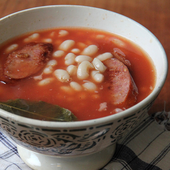 Portuguese Bean and Sausage Soup