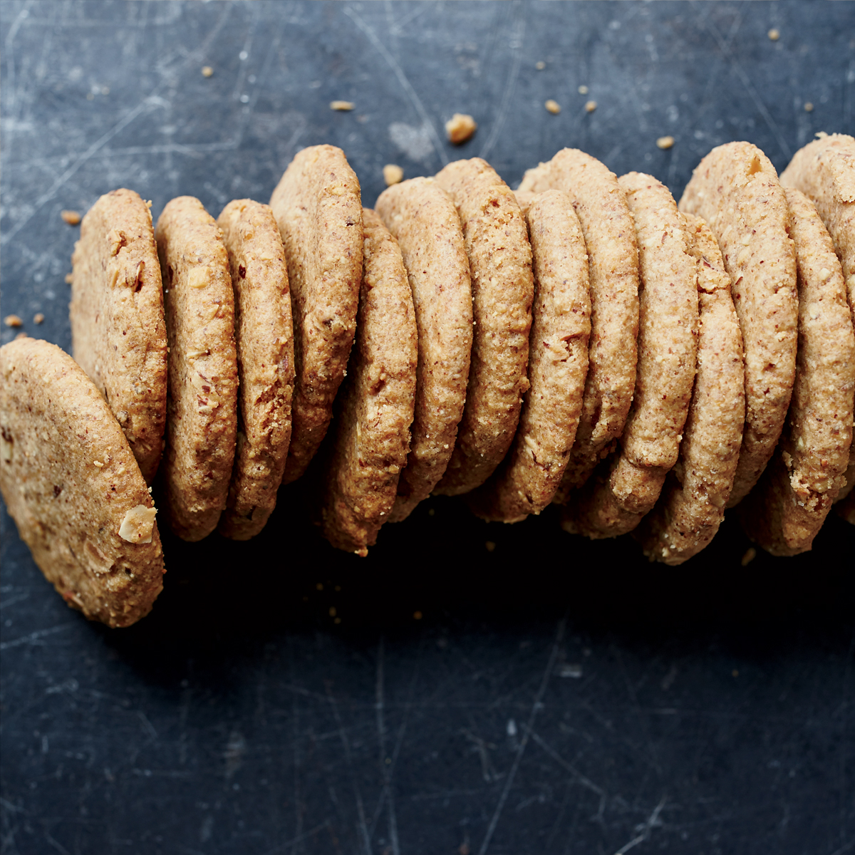 Almond Short Bread Cookies