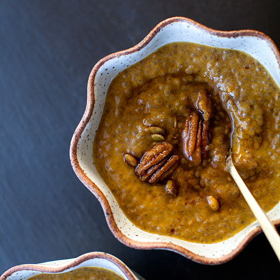 Pumpkin Pie Chia-Seed Pudding