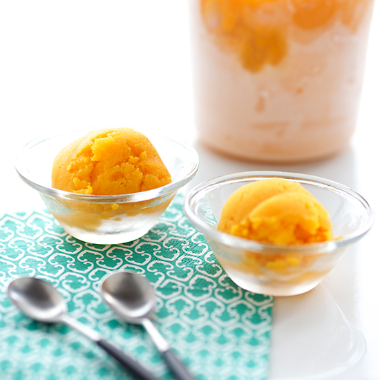 Spiced Butternut Squash Sorbet