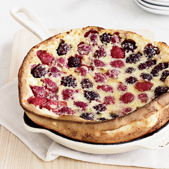 Mixed-Berry Dutch Baby