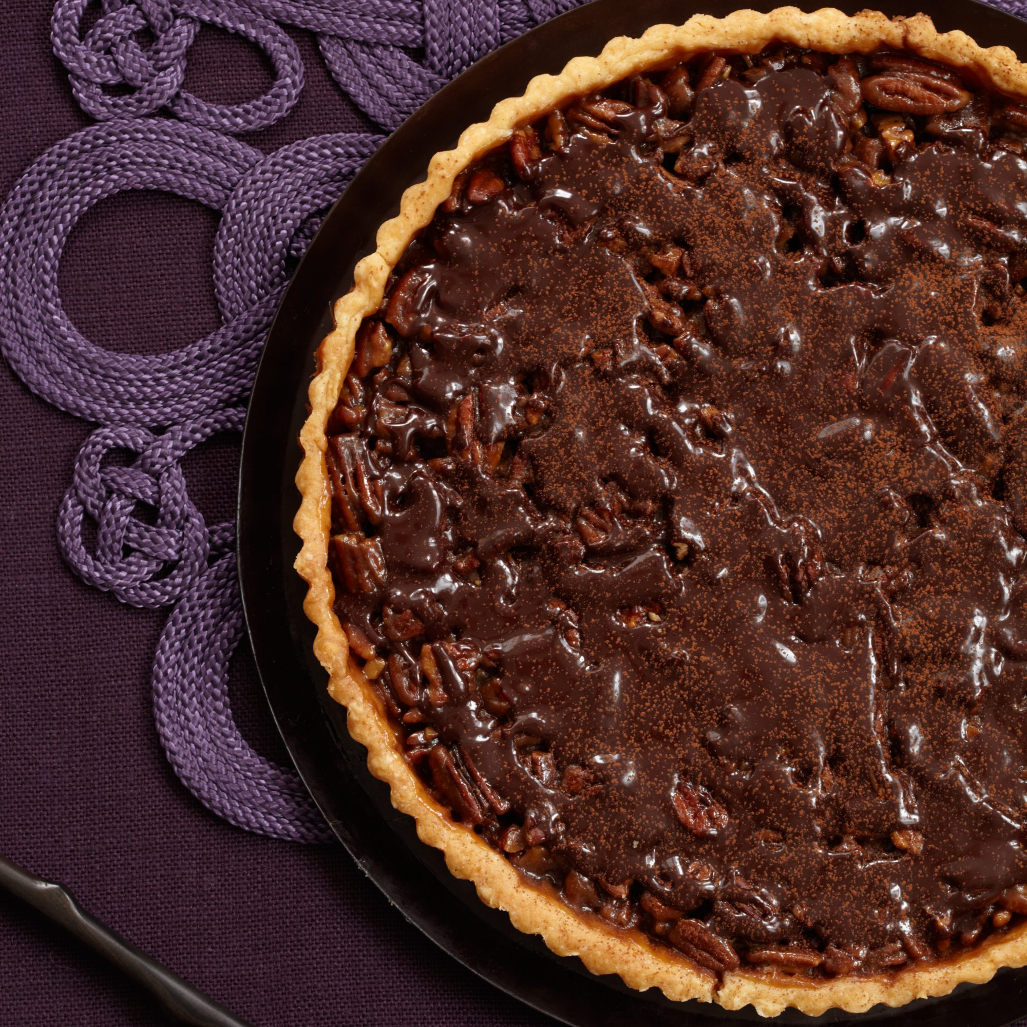 Chocolate Pecan Tart Recipe - Lydie Marshall | Food & Wine