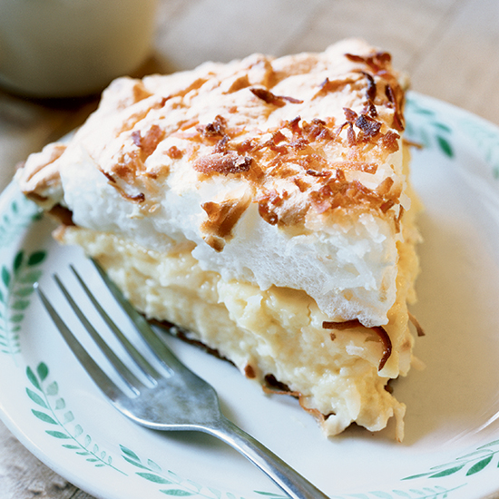Custard and Cream Pie Recipes