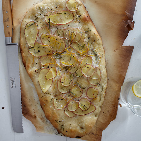 Potato Tarte Flambée