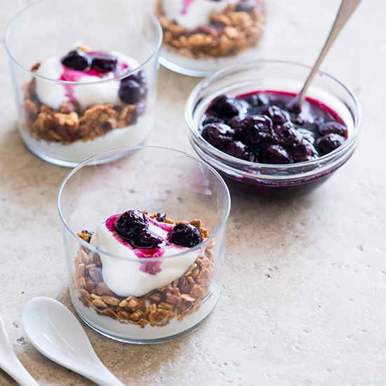 7. Blueberry Breakfast Parfait