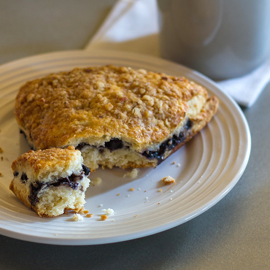 Almond Flour Blueberry Scones
