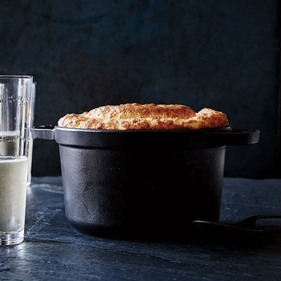 Cauliflower-and-Gruyère Soufflé