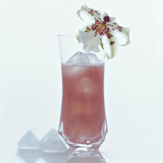 Flowery Cocktails for Bridal Showers