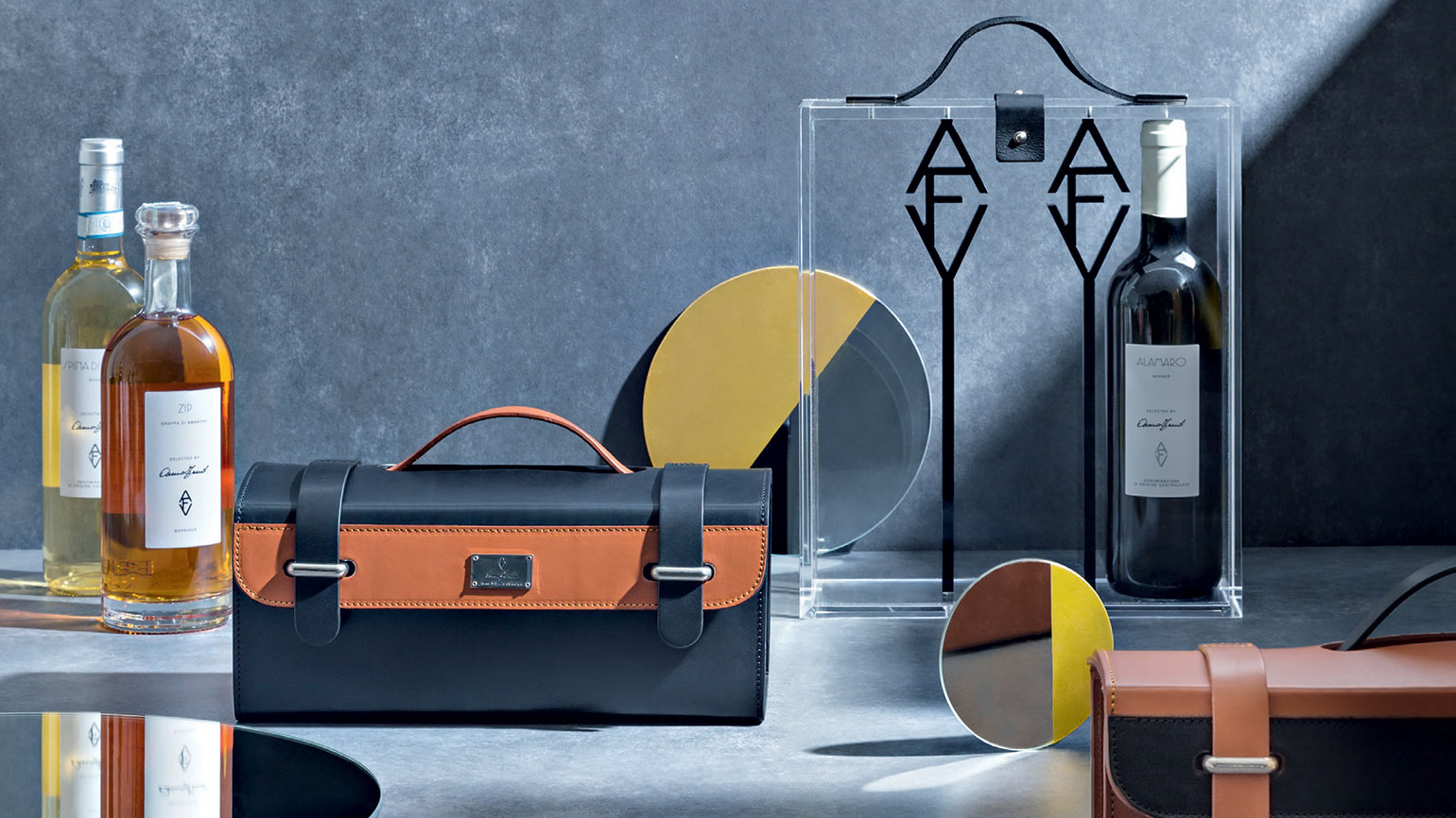 Anna Fendi Unveils Stylish Wines and Drinking Accessories