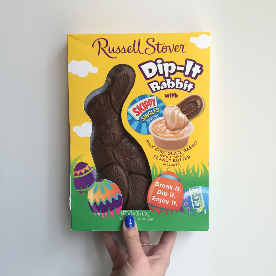 Chocolate Peanut Butter Easter Rabbit
