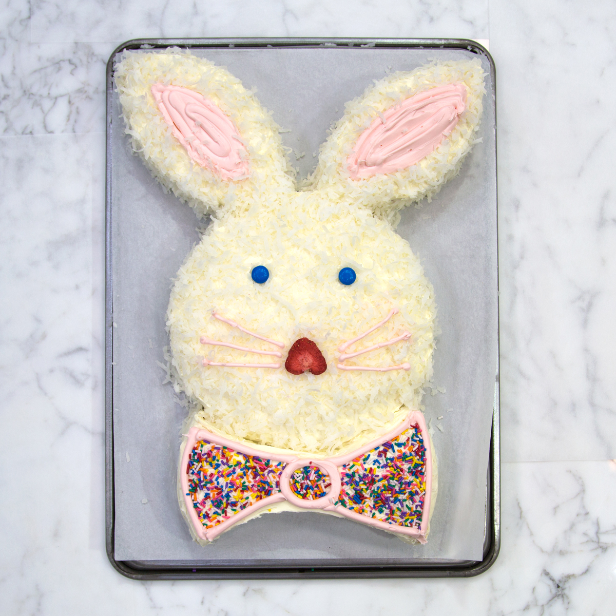 how to make an easter bunny cake food u0026 wine