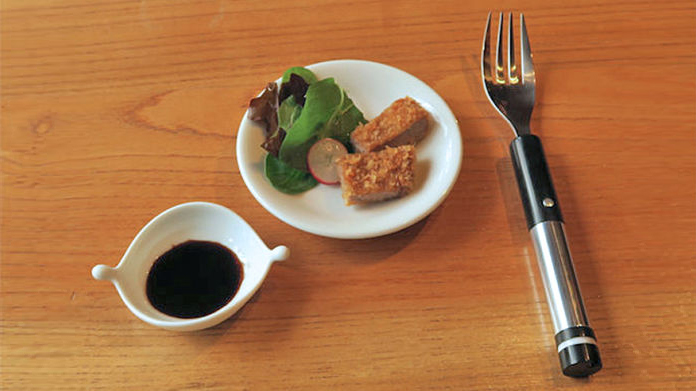 Electric Fork for Salt