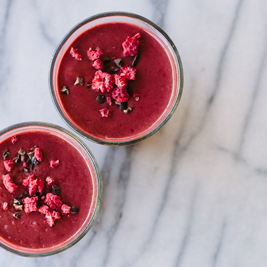 Beet-Cacao Smoothie