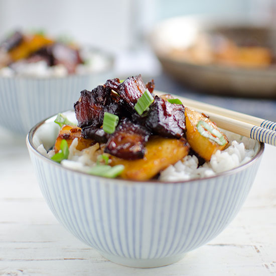 BBQ Pork and Pineapple Stir-Fry