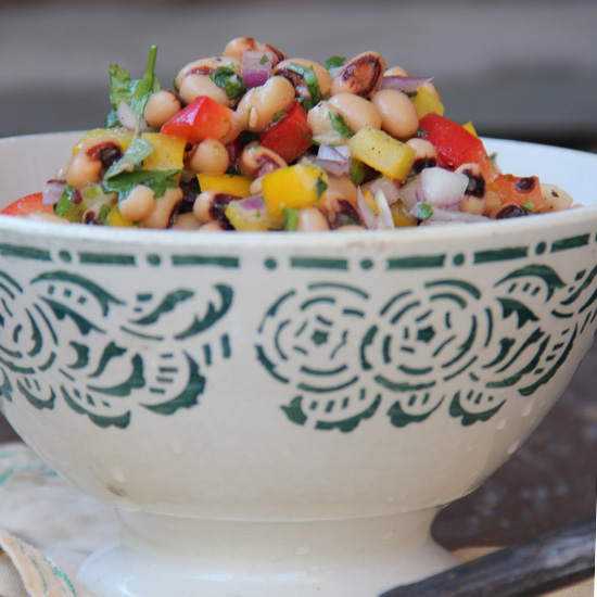 Black-Eyed Pea Carnival Salad