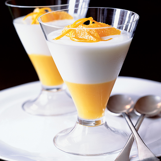 Buttermilk Creamsicle Panna Cotta