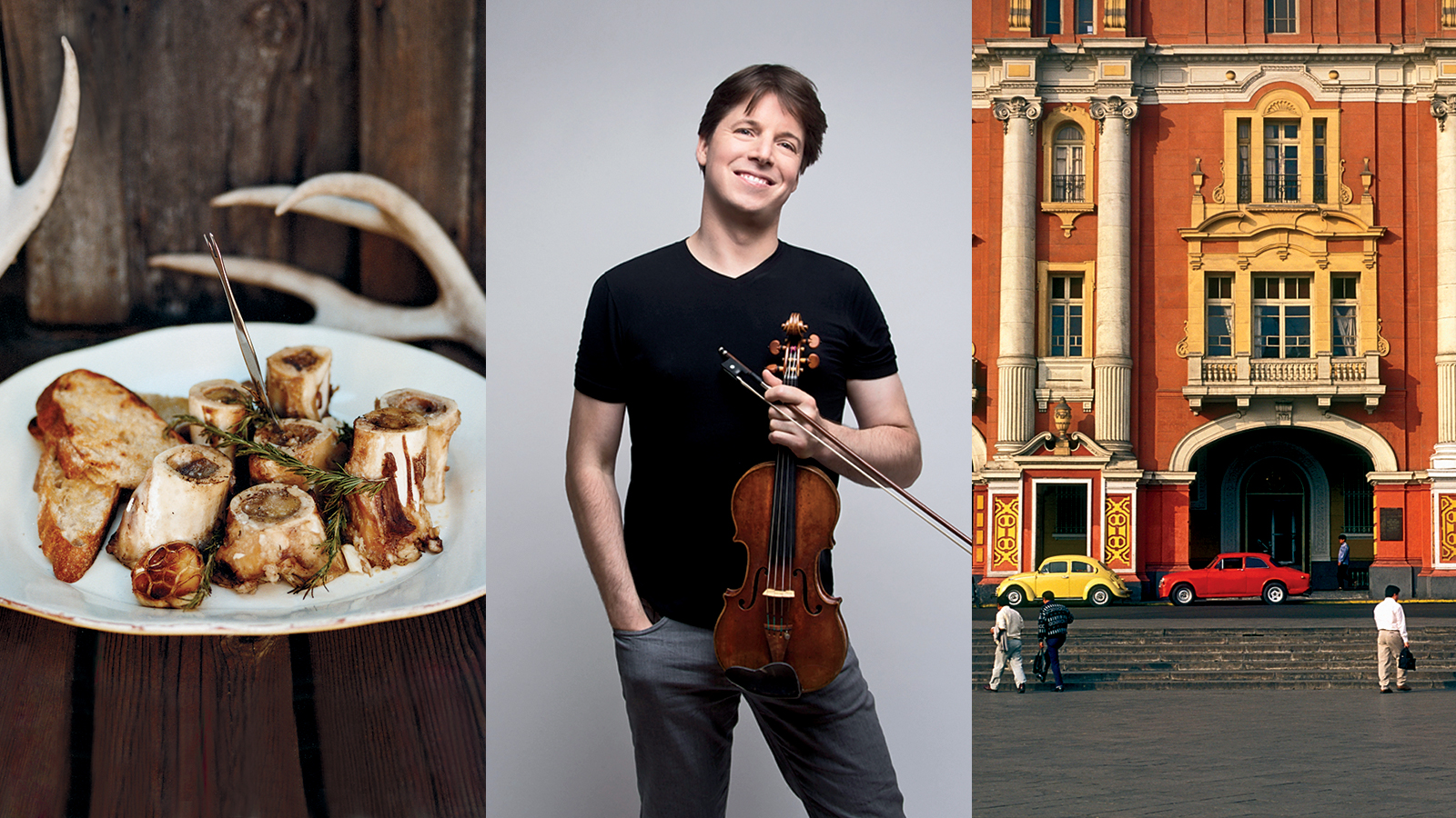 Joshua Bell on His Ultimate In-N-Out Burger Run and Love of 24-Course Meals in Lima