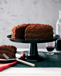 Chocolate Blackout Cake Dessert Recipe