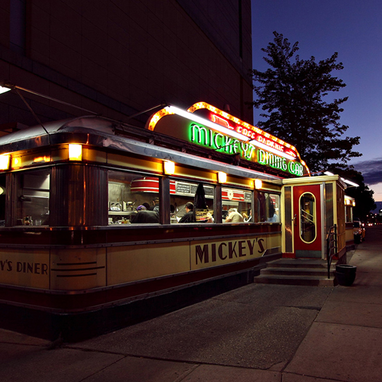 Mickey's Dining Car; St. Paul