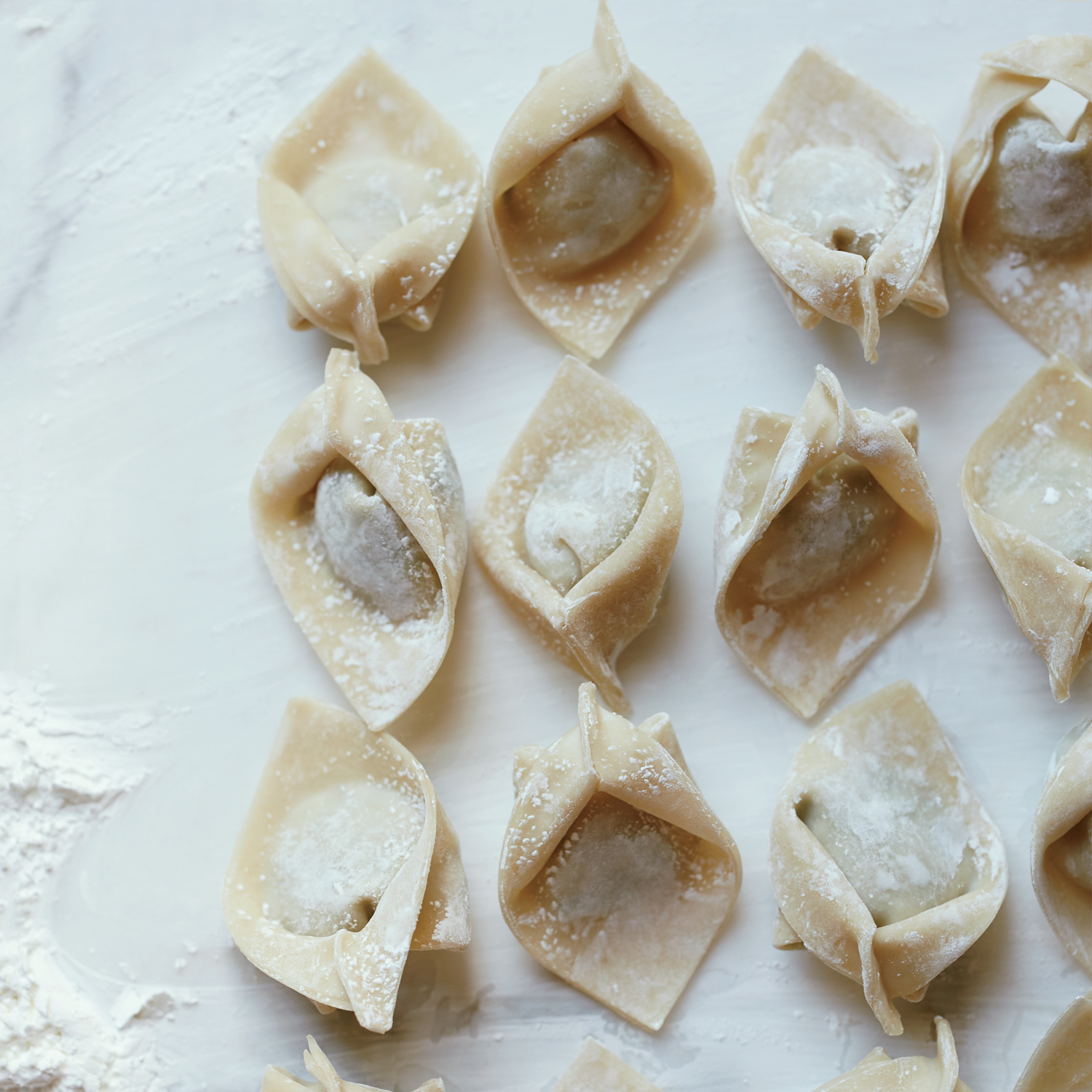 Shrimp-and-Pork Wontons