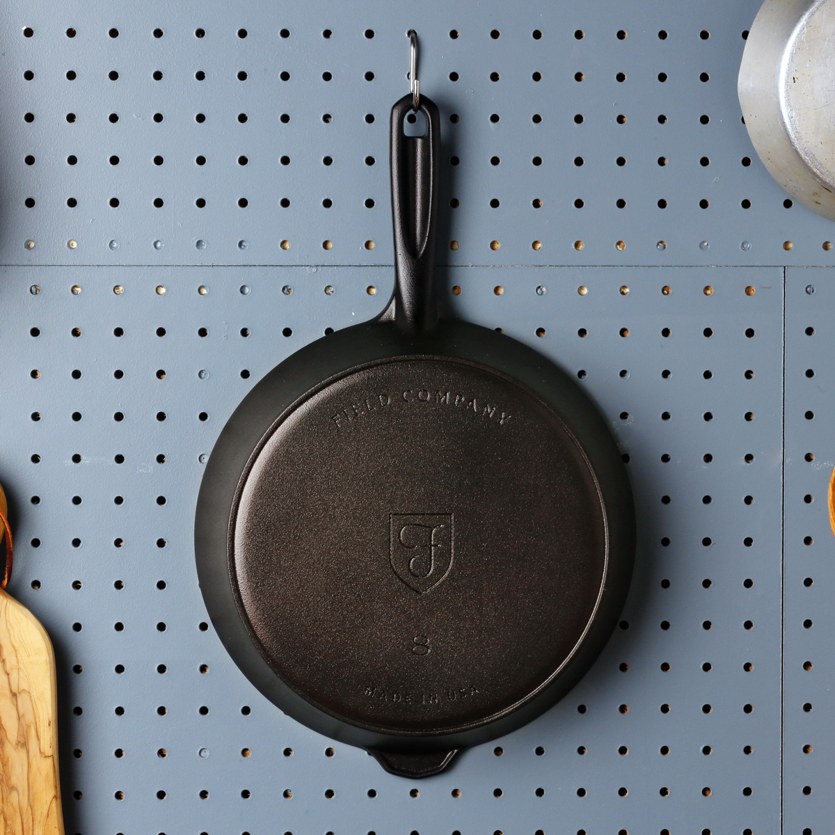 Thin Cast Iron Pan