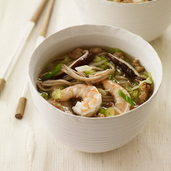 recipe: seafood soba soup [10]