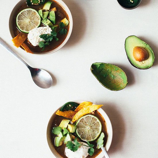 Green Tortilla Soup