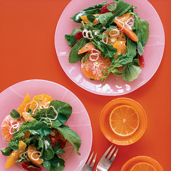 Mixed Citrus and Arugula Salad