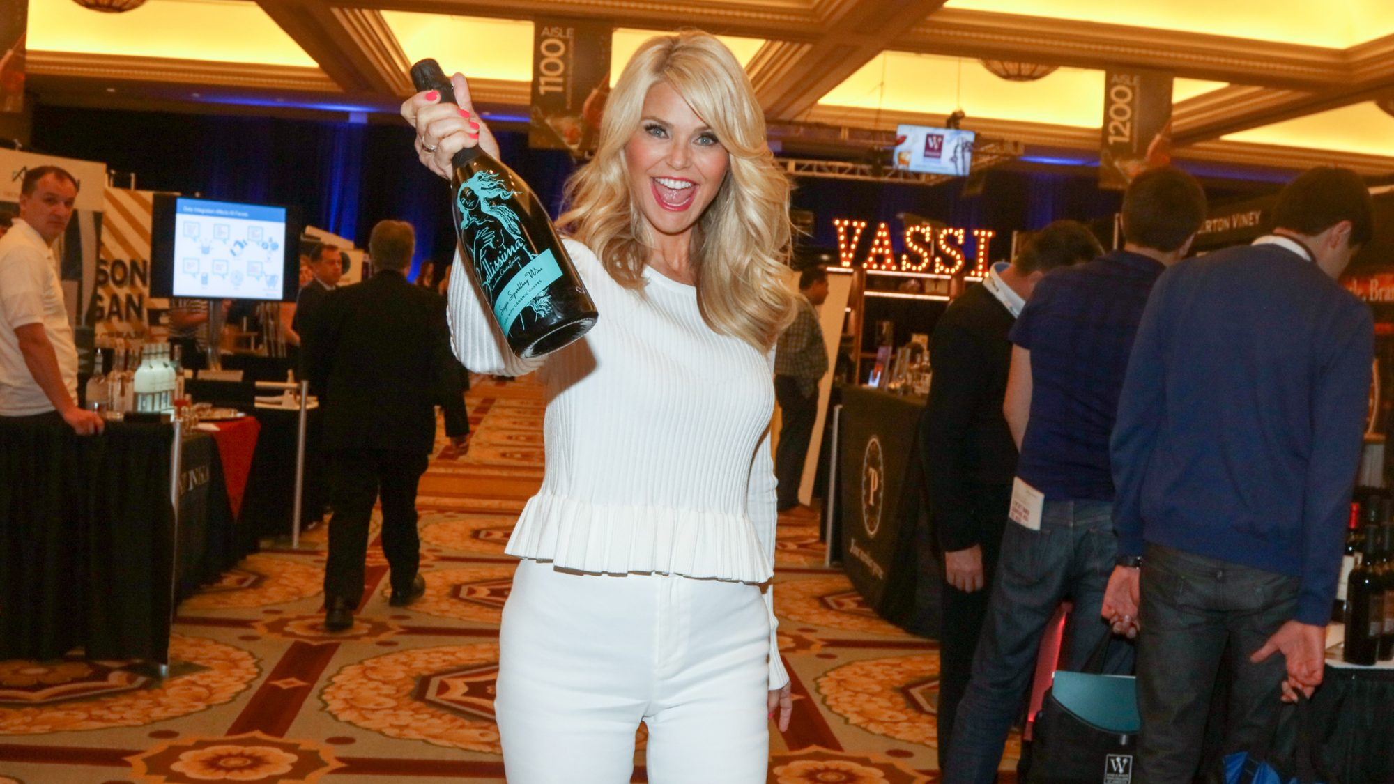 Christie Brinkley Just Launched Her Own Prosecco