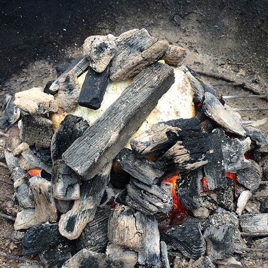 How to Grill Directly on Hot Coals