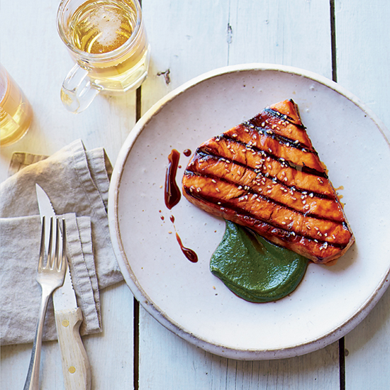 Grilled Swordfish with Miso Sauce