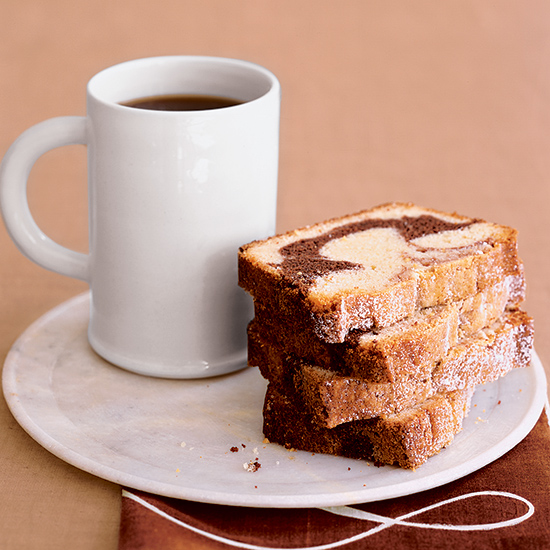 Chocolate Marble Pound Cake