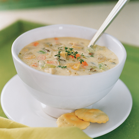 Panhandle Clam Chowder