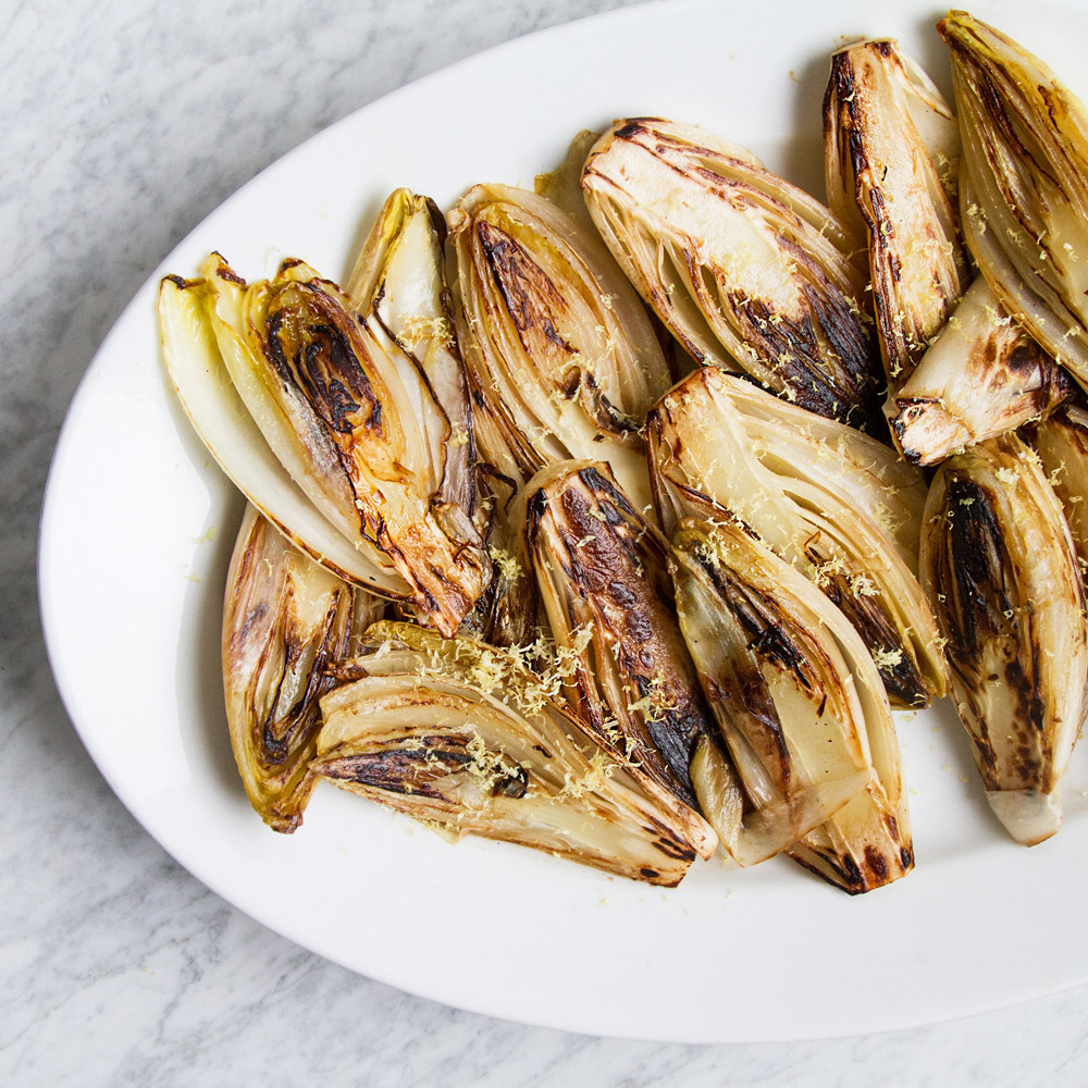Lemony Seared Endives