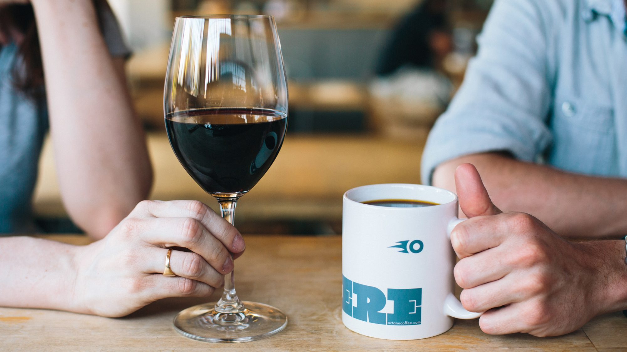 Coffee and Wine for Stomach Health