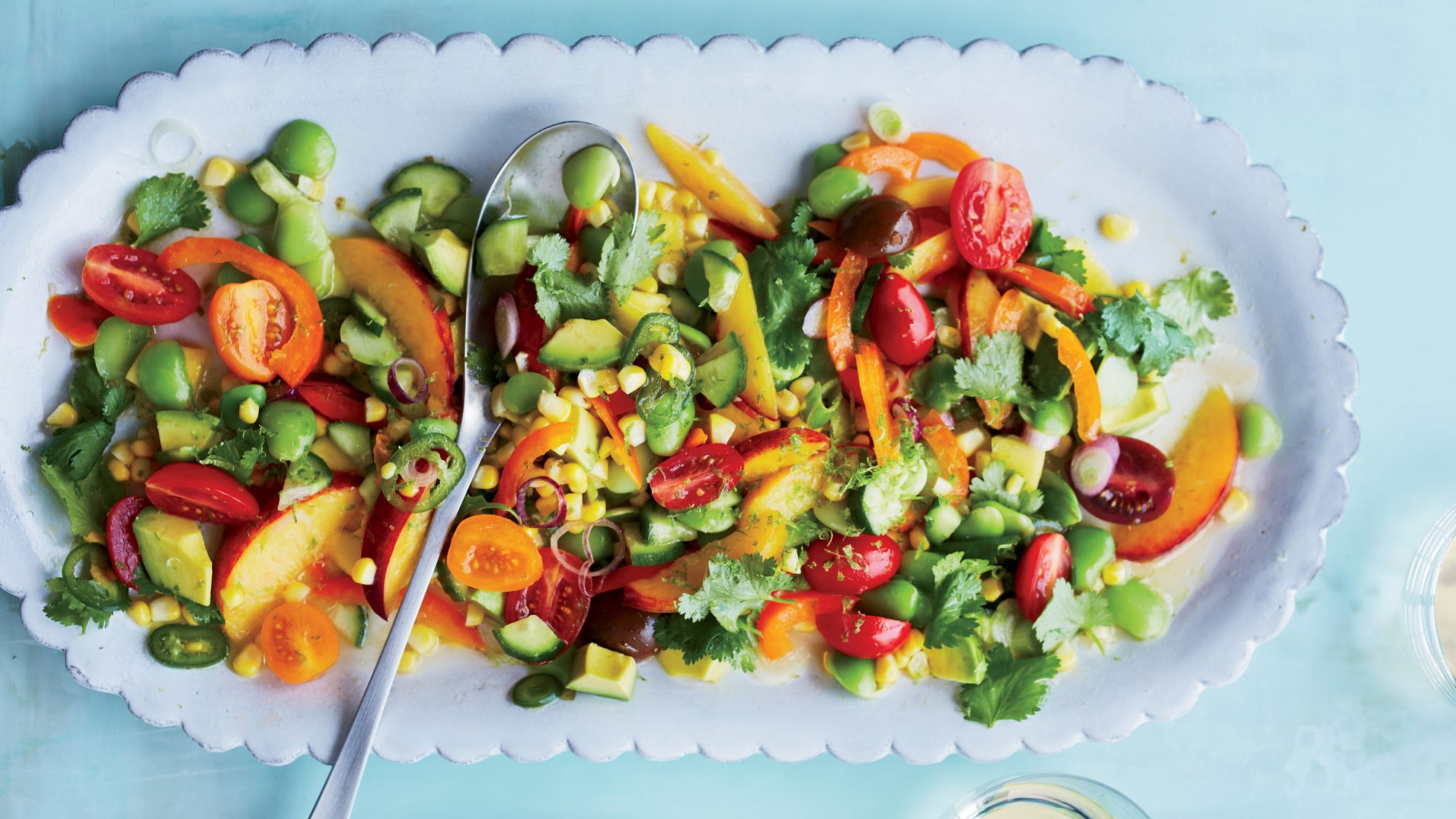 Summer Vegetable Ceviche